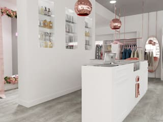 Recoleta- Local Comercial Diaf design Oficinas y Tiendas Rosa