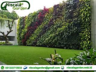 Vertical Garden Jakarta Niscala Garden Jakarta Taman Tropis