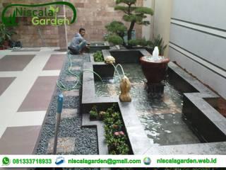 Tukang Kolam Koi Jakarta Niscala Garden Jakarta Taman Minimalis