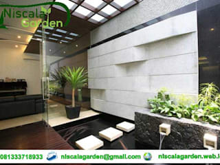 Tukang Kolam Koi Jakarta Niscala Garden Jakarta Koridor & Tangga Minimalis