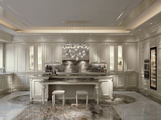 Cucina Marmolà - Brummel Brummel Cucina attrezzata Legno massello Bianco