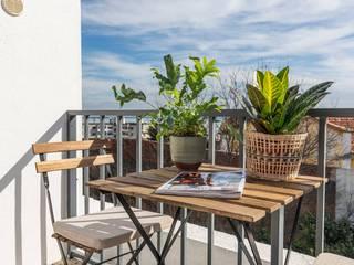 Click Inside - Real Estate Photography Balkon, Beranda & Teras Klasik