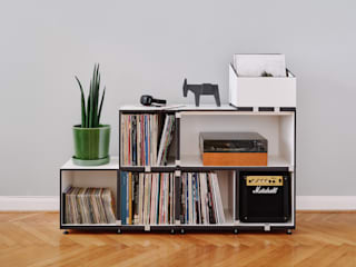 stocubo - Das modulare Regalsystem Multimedia roomStorage