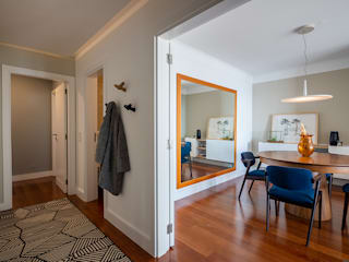 Apartamento Anémona - SHI Studio Interior Design ShiStudio Interior Design Corredores, halls e escadas modernos