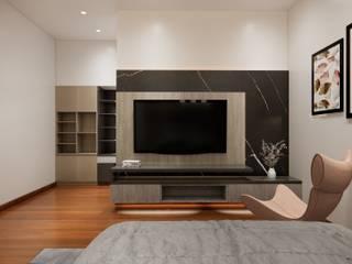 Trivision office Modernize Design + Turnkey บ้านเดี่ยว ไม้ Grey
