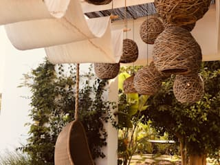 CASÁRBOL Rustic style garden