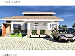 SN HOUSE BujurSangkar Architect Rumah Modern