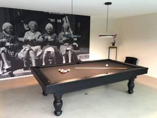Proyecto en Bélgica Bilhares Carrinho, lda ComedorAccesorios y decoración Madera Negro