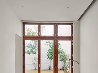 CDM APARTMENT BUIDLING Kahane Architects Ventanas de madera