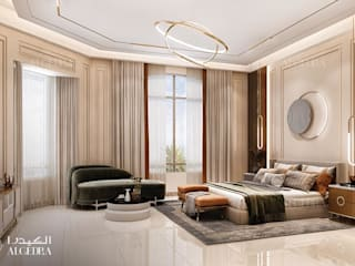 Algedra Interior Design Camera da letto moderna