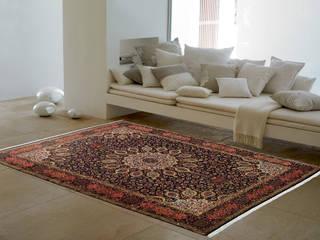 Persian House Salones de estilo clásico Bambú Azul