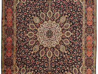 Persian House Floors Bamboo Blue