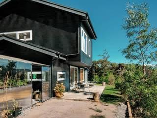 WINTERI Passive house Aluminium/Zinc Black