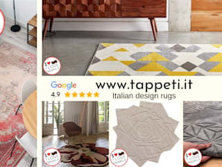 www.tappeti.it Classic style dining room Bamboo Multicolored