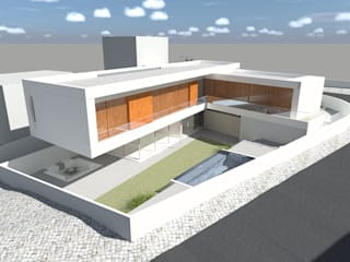 OTHERSIDE ARCHITECTS Rumah tinggal White