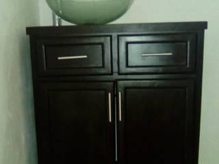 Carpintería Fabricaciones Peña BathroomSinks MDF Black