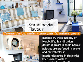 "Scandinavian Flavour :""Nordic design, muted colour palette, natural fibers Lakkad Works Living roomAccessories & decoration"