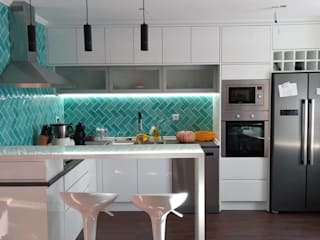 Home 'N Joy Remodelações Kitchen units White