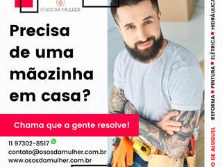 O SOS DA MULHER Modern houses