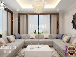 Luxury Antonovich Design Modern Living Room