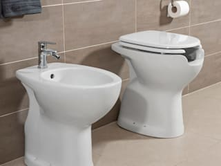 Inbagno BathroomSeating Keramik White