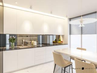 OTHERSIDE ARCHITECTS Dapur Modern White