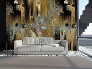 Moderne Tapeten Mowade Wände & BodenTapeten Bernstein/Gold