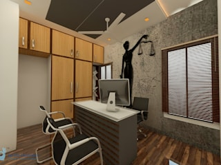 Advocate office JAIHO INTERIORS - RESIDENCE & COMMERCIAL INTERIORS