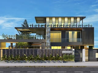 HC Designs Villas Concrete Grey