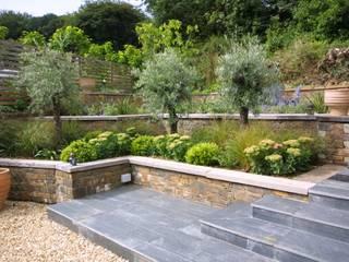 Listed Barn Conversion in Cornwall Arco2 Architecture Ltd Rock Garden
