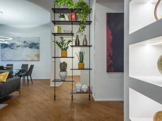 L'aapartamento della Musica BB1 LABORATORIO DI ARCHITETTURA & DESIGN Ingresso, Corridoio & Scale in stile moderno
