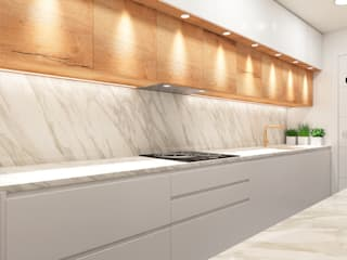 ZERMATT DECORACION S.L KitchenStorage Chipboard Wood effect