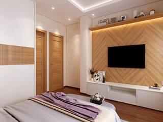 Paimaish Small bedroom Plywood Brown