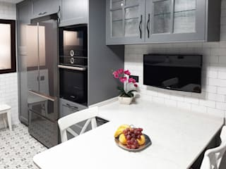 ZERMATT DECORACION S.L KitchenStorage Wood Grey