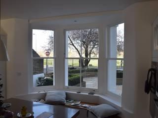 Sash window bay Repair A Sash Ltd Holzfenster Holzwerkstoff Weiß