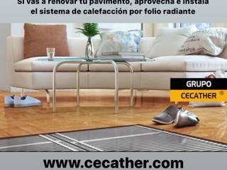 GRUPO CECATHER | FOLIO RADIANTE - SUELO RADIANTE Lantai Kayu Buatan Wood effect