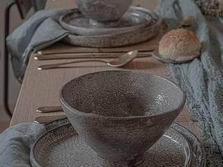 Ana Dominguez Ceramics Sala da pranzoStoviglie & Bicchieri