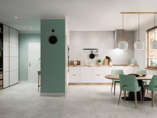 Domni.pl - Portal & Sklep Modern Kitchen Ceramic White