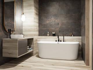 Domni.pl - Portal & Sklep Modern Bathroom Ceramic Brown