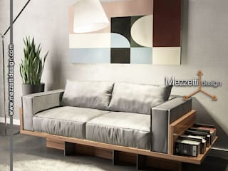 Mezzettidesign Living roomSofas & armchairs Wood Wood effect
