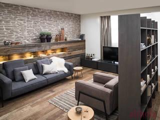 FM Küche Nordkamm altholz, Baumgartner & Co GmbH Moderne Wohnzimmer Holz