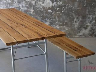 Biertisch Eiche altholz, Baumgartner & Co GmbH Balkon, Veranda & TerrasseMöbel Holz