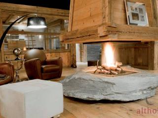Interior Design 01 altholz, Baumgartner & Co GmbH Rustikale Wohnzimmer Holz