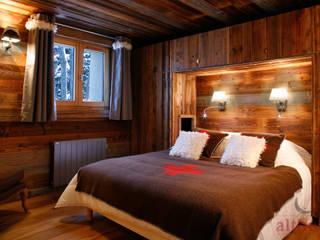 Interior Design 01 altholz, Baumgartner & Co GmbH Rustikale Schlafzimmer Holz