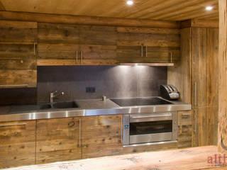 Interior Design 01 altholz, Baumgartner & Co GmbH Rustikale Küchen Holz