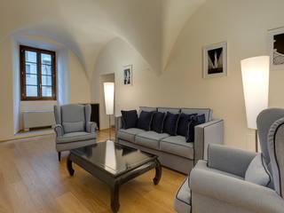 Restauro di appartamento B&B centro Firenze Arch. Alessandra Cipriani Soggiorno classico