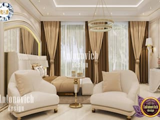 Luxury Antonovich Design غرفة نوم