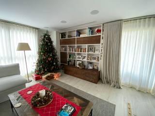 Proyecto Carolina DEKMAK interiores Salones rústicos de estilo rústico