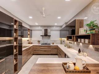 DLIFE Home Interiors 廚房收納櫃與書櫃
