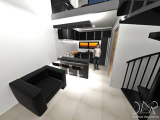 Dehonor Arquitectos Modern living room
